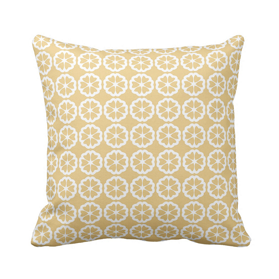 cushion covers and decorative pillows - orange pillow